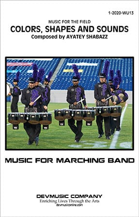 Colors, Shapes And Sounds marching band show cover