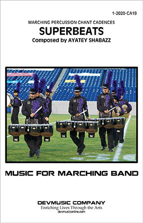 Superbeats marching band sheet music cover