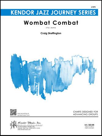 Wombat Combat jazz sheet music cover