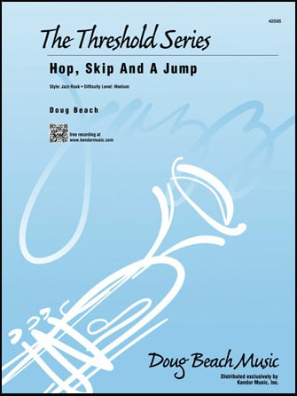 Hop, Skip and a Jump jazz sheet music cover