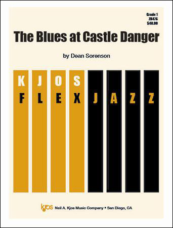 The Blues at Castle Danger jazz sheet music cover