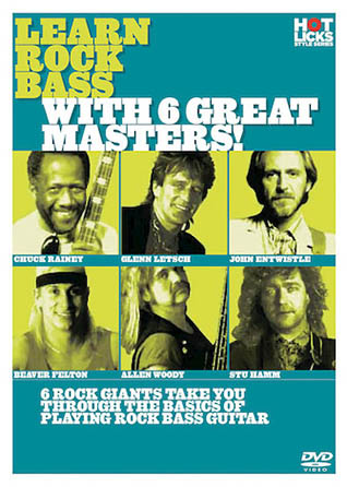 Learn Rock Bass with 6 Great Masters