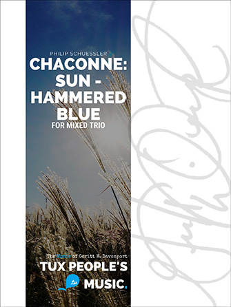 Chaconne: Sun-Hammered Blue