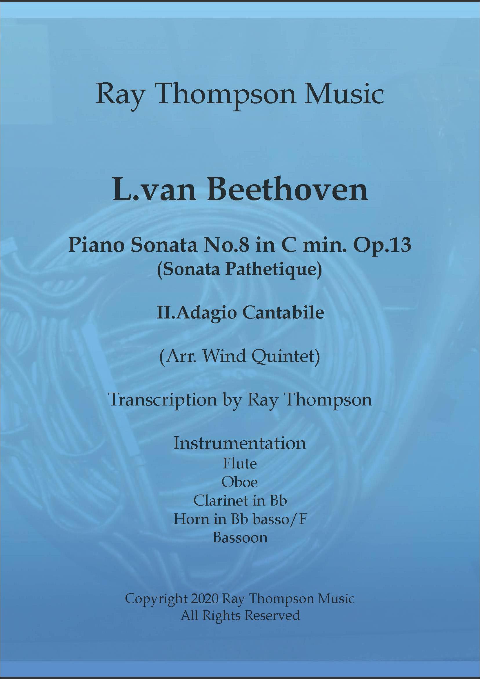 Beethoven:Piano Sonata No.8 in C Minor op.13 Movement II Adagio cantabile