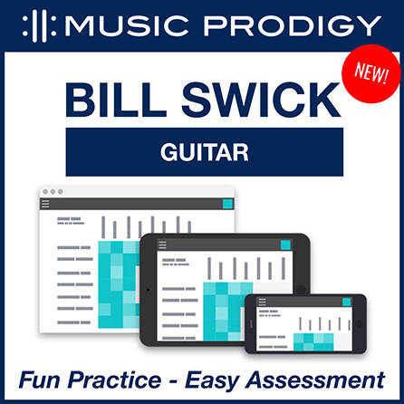 Music Prodigy for Bill Swick's Year 1 Guitar Method - special 3-month subscription