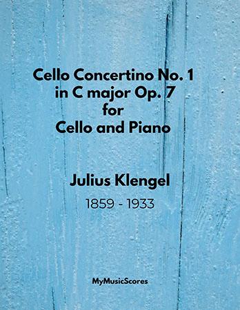 Klengel Cello Concertino No. 1 in C major Op. 7