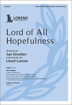 Lord of All Hopefulness Thumbnail