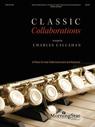 Classic Collaborations woodwind sheet music cover