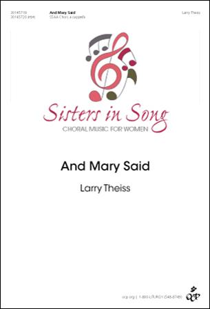 And Mary Said