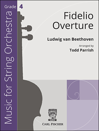 Fidelio Overture orchestra sheet music cover