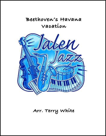 Beethoven's Havana Vacation jazz sheet music cover