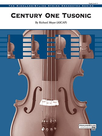 Century One Tusonic orchestra sheet music cover