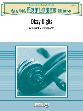 Dizzy Digits orchestra sheet music cover