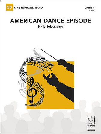 American Dance Episode choral sheet music cover