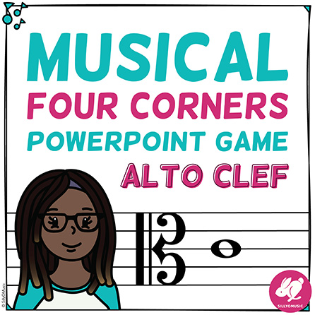 Musical Four Corners: Alto Clef