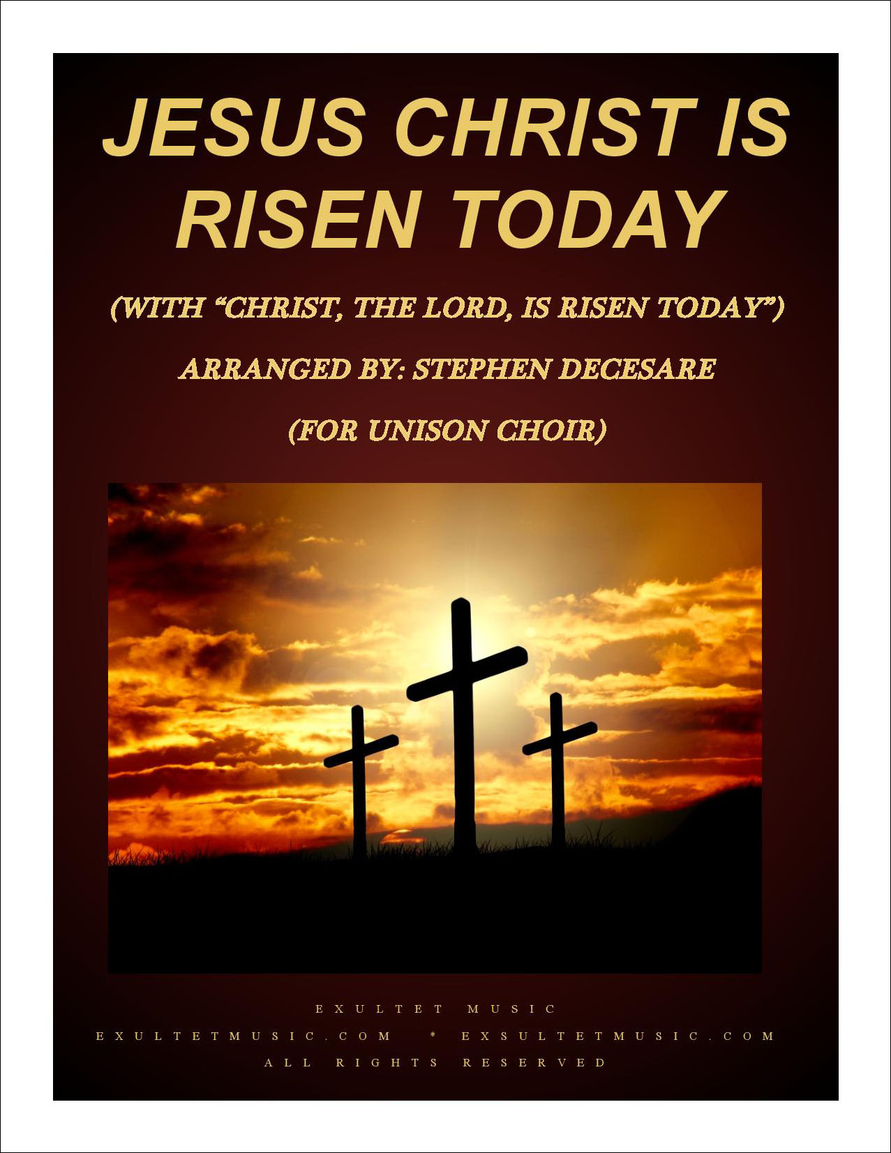 Jesus Christ Is Risen Today with