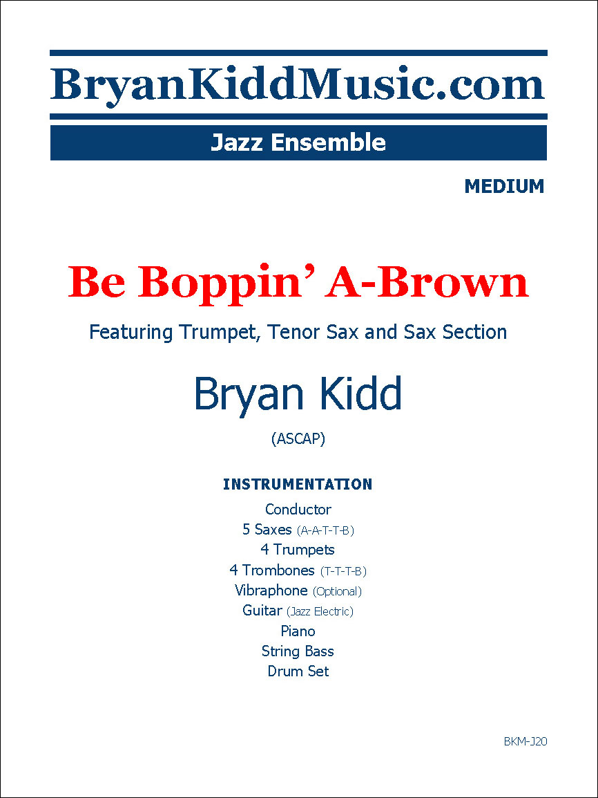 Be Boppin' A-Brown