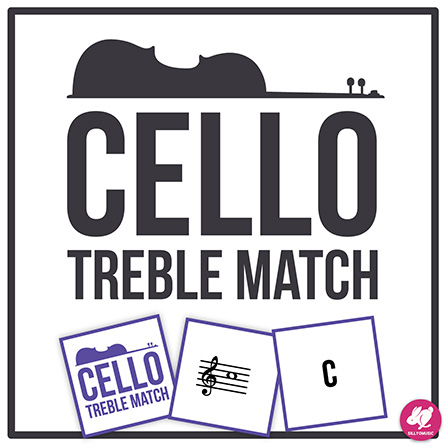 Cello Memory & Matching Card Game