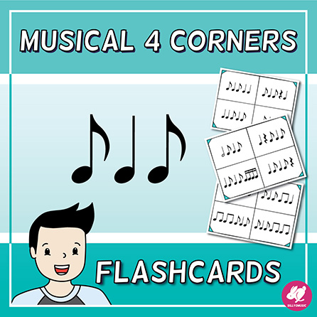 Flashcards with 4 Corners/Section - Standard Notation