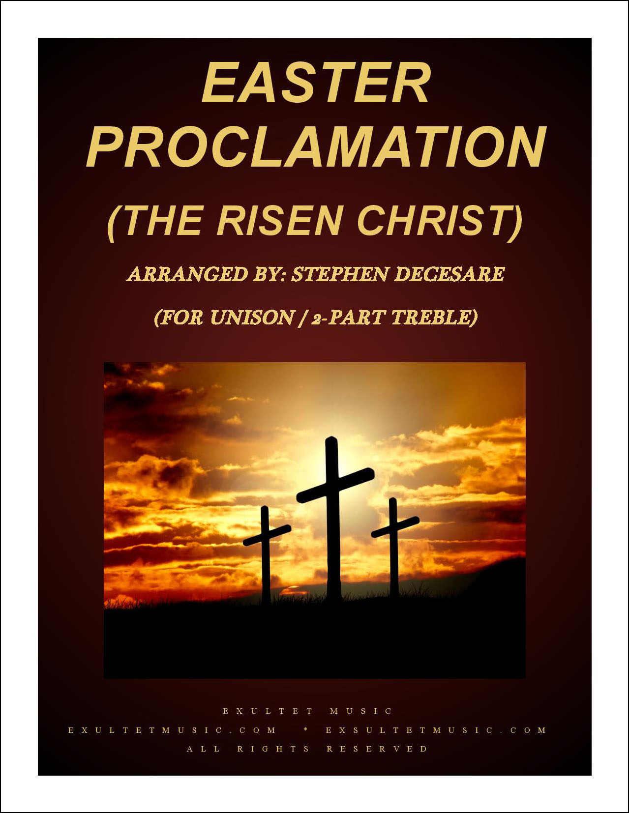 Easter Proclamation The Risen Christ