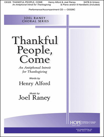 Thankful People, Come church choir sheet music cover