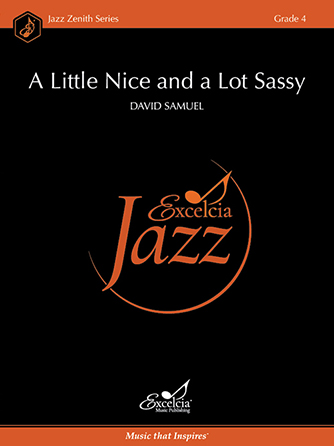 A Little Nice and a Lot Sassy jazz sheet music cover