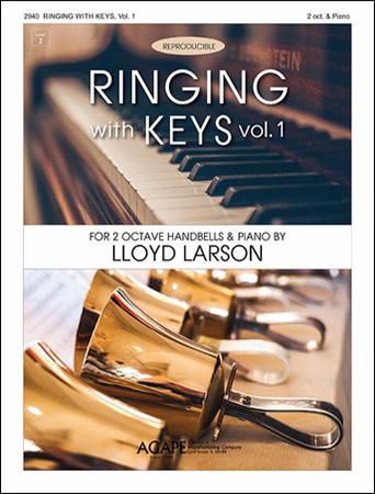 Ringing with Keys, Vol. 1 handbell sheet music cover