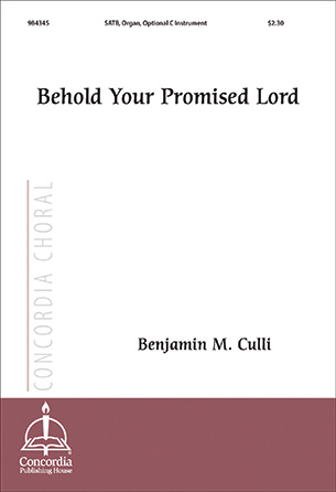 Behold Your Promised Lord