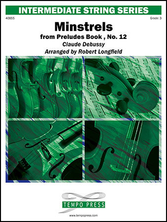 Minstrels from Preludes Book 1, No. 12