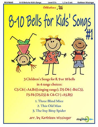 8-10 Bells for Kids' Songs #1