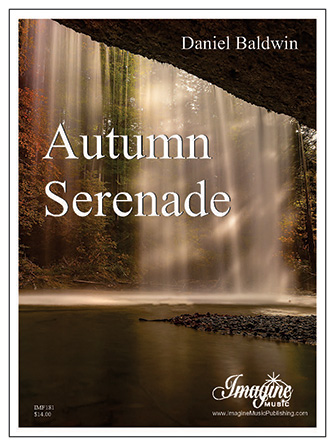 Autumn Serenade woodwind sheet music cover