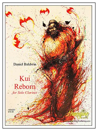 Kui Reborn woodwind sheet music cover