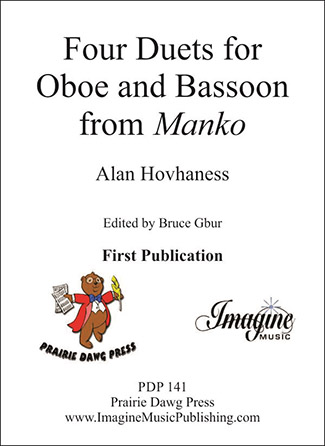 Four Duets for Oboe and Bassoon from Manko