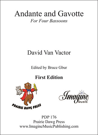 Andante and Gavotte for Four Bassoons