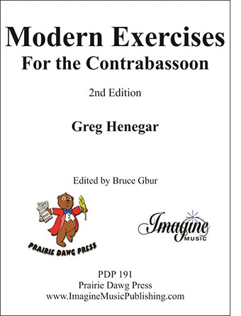Modern Exercises for Contrabassoon, 2nd Edition