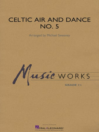 Celtic Air and Dance No. 5 choral sheet music cover