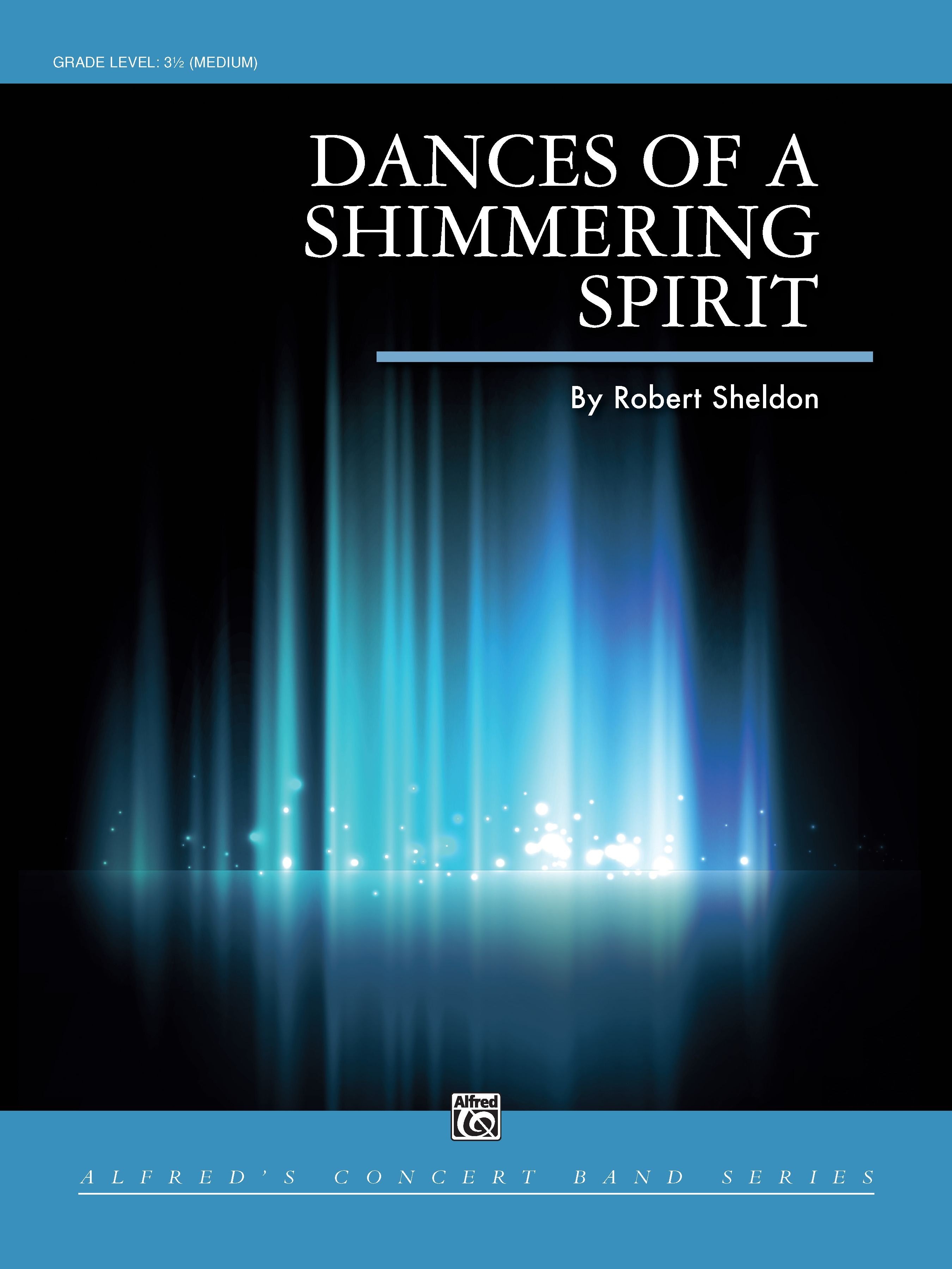 Dances of a Shimmering Spirit band sheet music cover