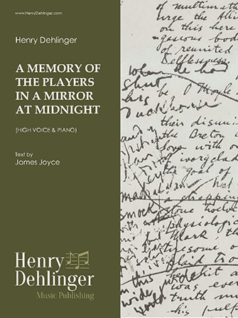 A Memory of the Players in a Mirror at Midnight