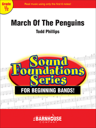 March of the Penguins band sheet music cover