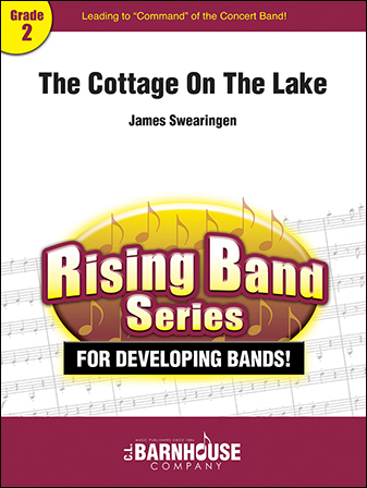 The Cottage on the Lake band sheet music cover