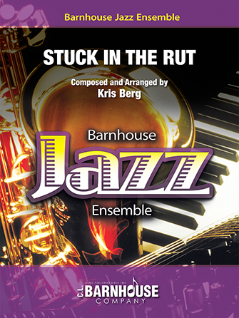 Stuck in the Rut jazz sheet music cover
