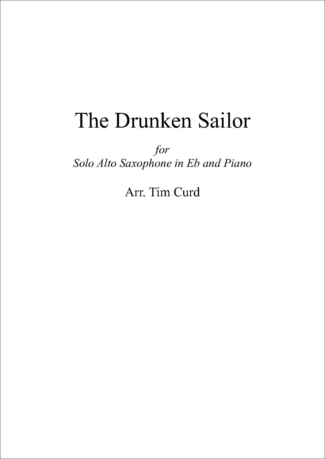 The Drunken Sailor