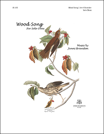 Wood Song woodwind sheet music cover