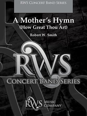 A Mother's Hymn choral sheet music cover
