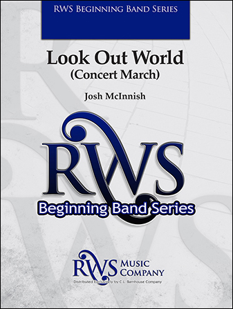 Look Out World band sheet music cover