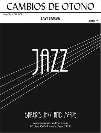Cambios de Otono jazz sheet music cover