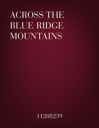 Across the Blue Ridge Mountains