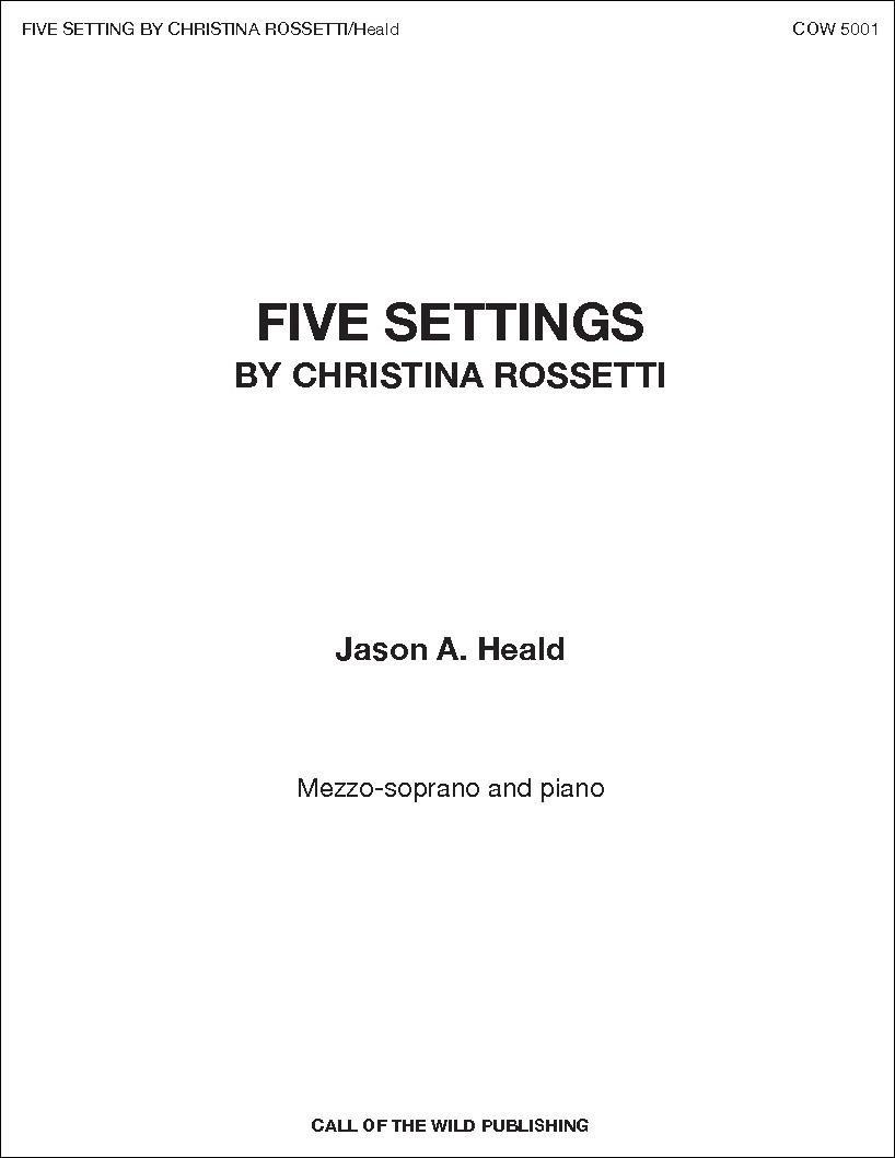 Five Settings by Christina Rossetti