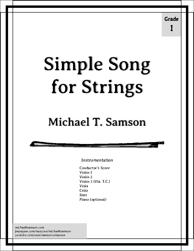 Simple Song for Strings