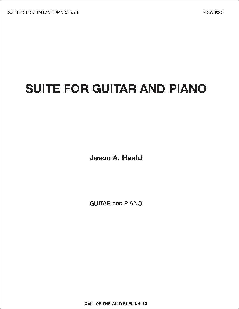 Suite for Guitar and Piano